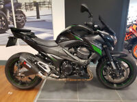 2016 Kawasaki Z800 1 Owner From New Low Miles Lowered Great Condition