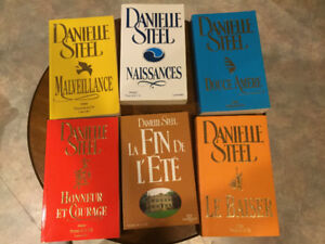 37 livres romans de Danielle Steel 3$ chacun
