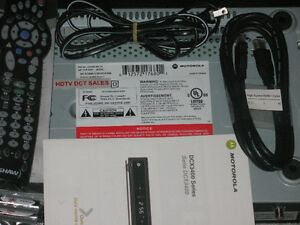 Motorola PVR & Accessories w/ Cogeco Eastlink Rogers Shaw Source