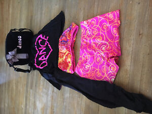 Hip hop dance outfit