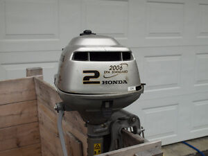 Honda 2 HP air cooled outboard for sale or trade