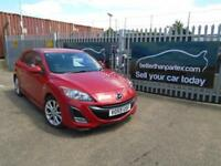 2009 (59) MAZDA 3 2.2 DIESEL SPORT LEATHER LOW MILEAGE