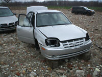 PARTING OUT: 2004 HYUNDAI ACCENT