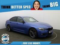 2018 BMW 3 Series 320I M SPORT SHADOW EDITION Auto Saloon Petrol Automatic