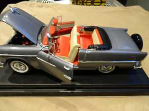 scale 1.18 die cast 55 chevy bell air american musclecar is in