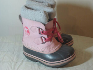 Girls Sorel Boots - Toddler Size 9 - $20.00