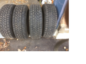 winter tires on rims 195/65R15