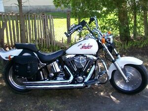 Harley Davidson FXSTC Softail 1993 Montreal Lowboy