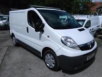 2009 VAUXHALL VIVARO 2700 CDTI SWB 115ps A C Diesel Van