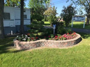 Camping sites and docks available to rent in Wendover, On.