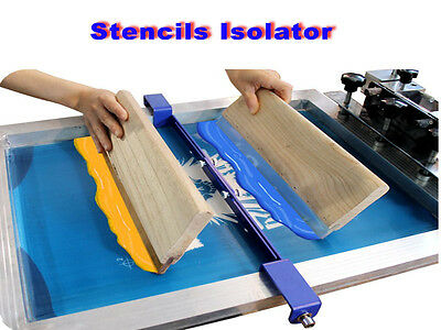 Double Color Separation Stencial Isolator Fix On Screen Frame Screen Printing