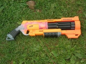 Modified Nerf Doomlands 2169 Vagabond Blaster With 5  Foam Darts