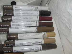 epoxy wood filler 8 colours available.taxes extra