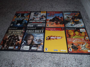 75 sony playstation 2 games ------------ALL IN CASES !!!