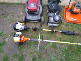 Garden, hedge and lawn care services