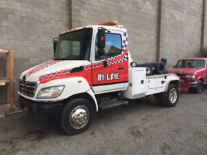 2007 Hino 185 , Tow truck, Automatic, Vulcan wrecker