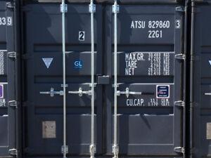 Conteneur neuf 20' conteneur marin à louer à Mirabel entreposage