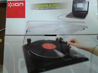 Profile Pro Digital Conversion Turntable with Aux Input