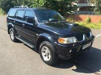 Mitsubishi Shogun Sport 2.5TD Equippe. MOT, 08/2017. ONLY 133 K ON CLOCK.