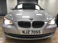 2009 BMW 530 3.0TD auto diesel SE Business Edition SILVER WARRANTY 12 MONTHS MOT