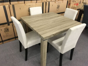 Condo Size Dining Table/4 chairs- New- Taxes/Delivery Included!