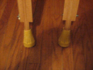 Wooden Crutches....Like New condition. only $10.00 Cambridge Kitchener Area image 2