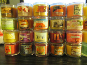 MANY SMALL BATH & BODY WORKS CANDLES or Buy 6 and get 1 Free!
