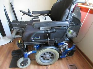 Quickie XL Electic rechargeable wheel chair
