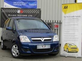 Vauxhall Meriva Life 1.4i 16v 5 Door Manual Petrol 2008