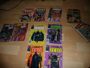 Old Comics Star Trek Star Wars Happy Days 2001 Space and more
