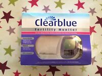 New and unused clearblue fertility monitor