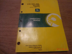 John deere tractor manuals London Ontario image 4