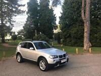 2007 BMW X3 2.0 Turbo Diesel SE 4X4 5 Door Estate Silver