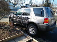 2007 Ford Escape Hybrid SUV, Crossover As is for Parts