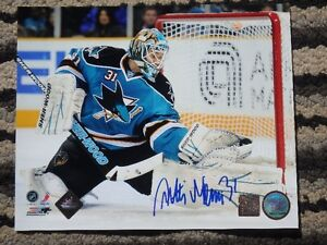 ANTTI NIEMI San Jose Sharks Autographed 8 X 10 Photo W/ COA
