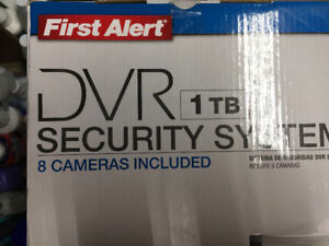 Complete security System BRAND NEW!