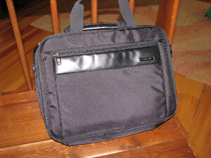 Samsonite  Perfect Fit Polyester 2 Gusset Laptop Briefcase new