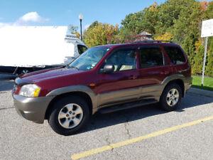 2003 Mazda Tribute  ES SUV, Crossover