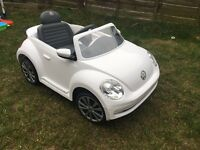 Vw beetle ride on with remote