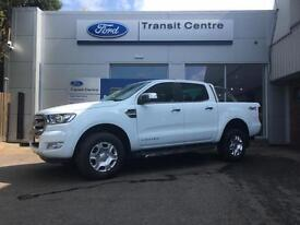 NEW Ford Ranger 3.2TDCi 200PS 4x4 Limited in White + Sat Nav & Rear Cam- Onsite