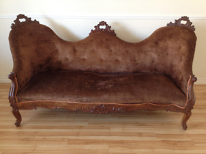 Antique mahogany sofa