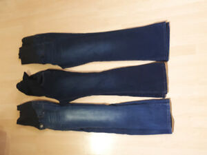 Maternity jeans size medium.  All for $15.