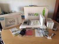 Nintendo Wii and Wii Balance board