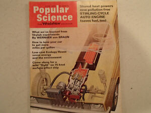 Vintage Popular Science Magazine June 1974 VGC