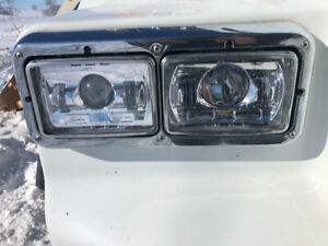 LED headlights lighs and lows