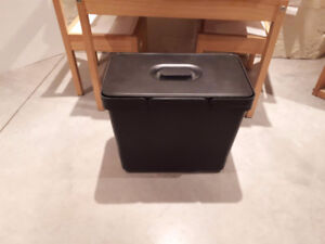 Ikea waste bin with pull-out tray/bracket