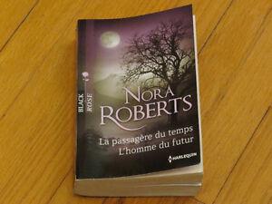 NORA   ROBERTS *2 TITRES  /PASSAGÈRE DU TEMPS /L'HOMME