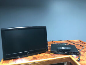 """COBY 19"""" LCD TV & PHILIPS DVD player - HDMI  $50 both"""