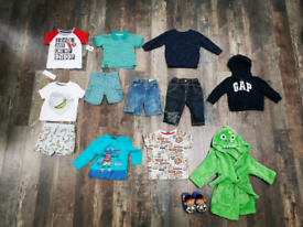 Boys Clothes Bundle Aged 12-18 months