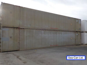 53' High Cube Insulated Shipping Container Used